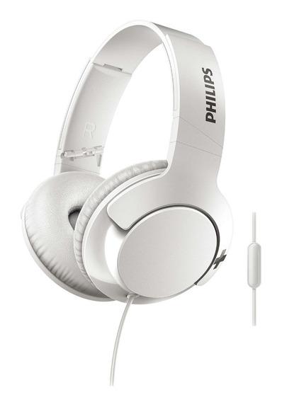 Auriculares Vincha Philips Bass + Shl3175wt/00 En 6 Cuotas