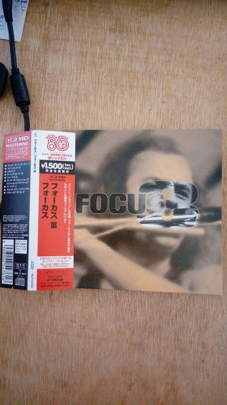 Cd Focus - 3 ( Mini- Lp Japonês) (semi-nv)