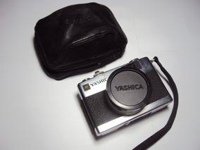 Camera Fotografica Yashica Electro 35 Mc - Leia O Anuncio