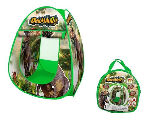 Barraca Dinossauro Menino Infantil Desmontável Piquenique