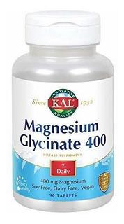 Glicinato De Magnesio 400 Mg Como Se Ve En La Primera Revist