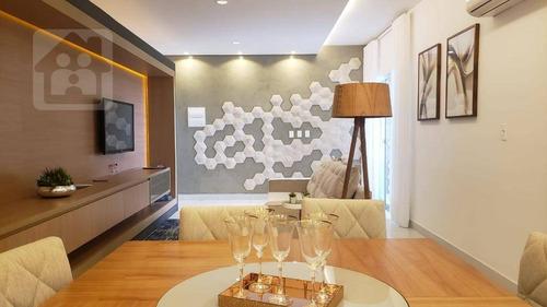 Apartamento Com 3 Dormitórios À Venda, 116 M² Por R$ 400.000,00 - Concórdia Ii - Araçatuba/sp - Ap0425
