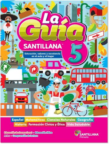 Imagen 1 de 3 de Paquete Guía Santillana 5º Primaria Oficial 2021 - 2022