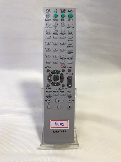 Controle Remoto Para Sony Home Theater