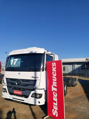 Mb Atego 3030 Ltb 8x2 Bi Truck