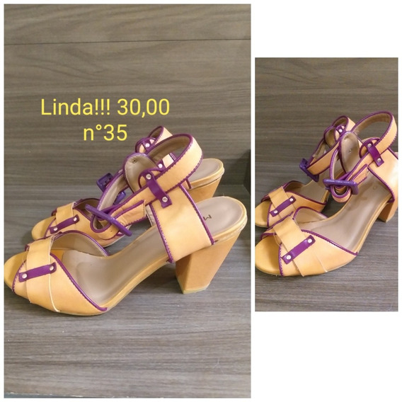 Sandálias/sapatos Bem Conservados Ótima Qualidade!!!