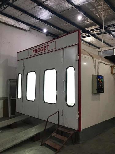 Cabina De Pintura Automotor Proget