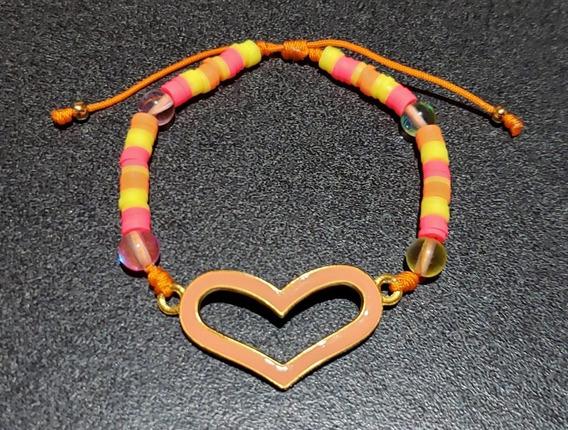 Pulsera Corazón De Puca Fino