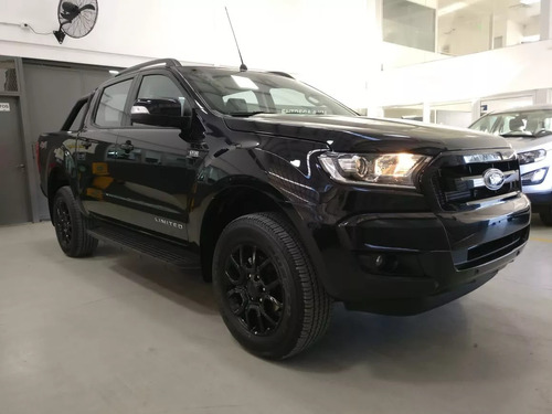 Ford Ranger Black Edition Cabina Doble 4x4 Diesel At Hc