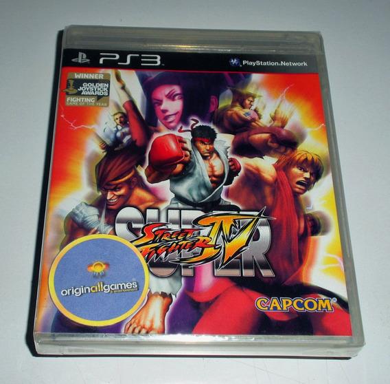 Super Street Fighter Iv ¦ Jogo Ps3 Original Lacr ¦ Mídia Fís