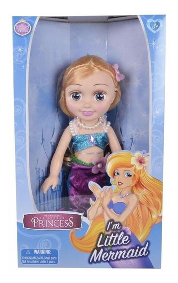 Muñeca Princesas Sirenita 45 Cm 22551p