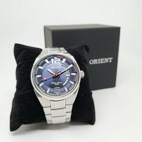 Relógio Orient Masculino Mbss1336 Aço Prata Nota Fiscal