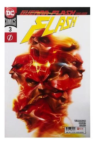 Imagen 1 de 1 de Flash #3 - 2019 - Ecc Arg - Joshua Williamson Howard Porter