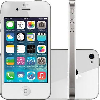 Apple iPhone 4 Original Nfe 512mb Ram 8gb Ios | Novo