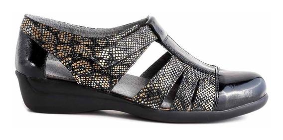Zapatilla Cuero Mujer Briganti Zapato Confort Mczp05253
