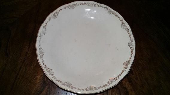 Antiguo Plato De Masas Porcelana Inglesa Grindley