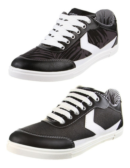 Zapatillas Urbanas Skate Golfeet Negras ¡oferta!