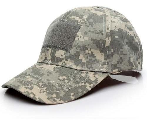 Gorra Tactica Militar Campismo Cap Camuflajeada Ajustable