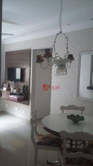 Apartamento Residencial À Venda, Jardim Urano, São José Do Rio Preto. - Ap1295