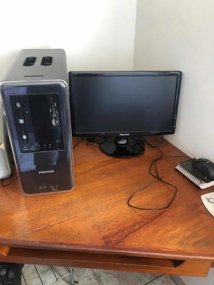 Computador I5 Completo Positivo, 6gb De Ram, Monitor