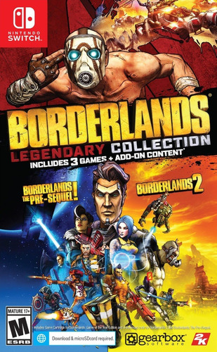 Imagen 1 de 1 de Borderlands Legendary Collection - Nintendo Switch Sellado