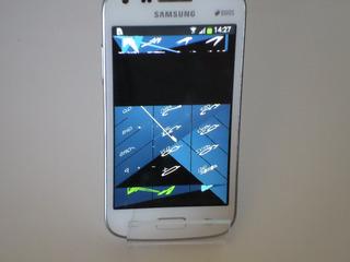 Celular Samsung Sm G3502t Tela Com Tremores (veja Foto) (d7)
