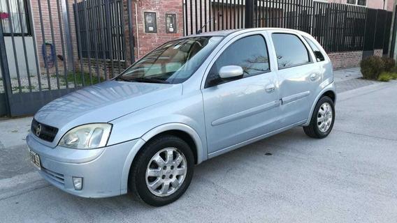 Chevrolet Corsa Ii 1.8 Cd 5p 2007 Gris Nafta Full