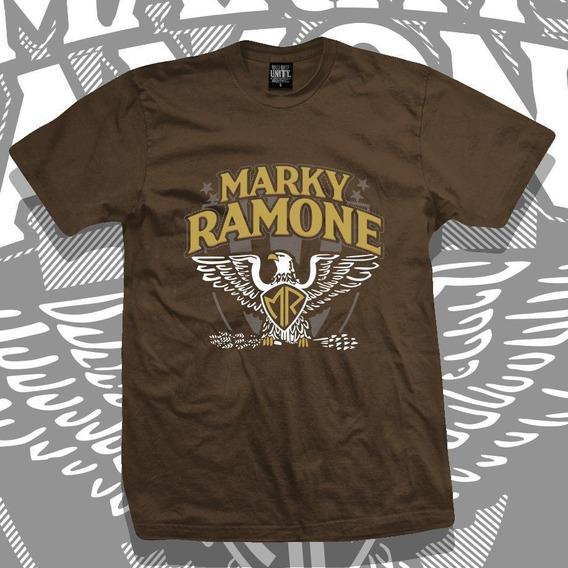 Remera Marky Ramone Tour 2019 Marron