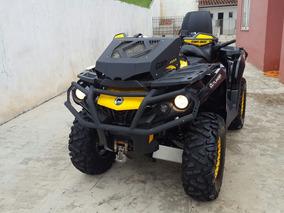 Quadriciclo Can Am Brp 800 Xtp Amarelo Preto Impecavel