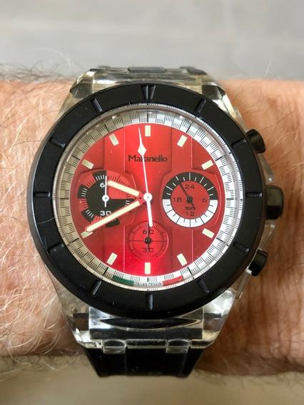 Relógio Masculino Maranello Painel Ferrari Water Resist 3atm