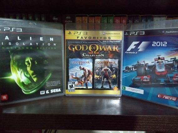 Ps3 Lote - God Collection (1e2), F1- 2012 E Alien Isolation