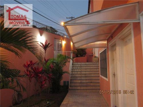 Sobrado Residencial À Venda, Jaraguá, São Paulo - So0532. - So0532