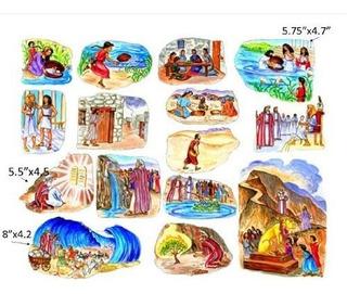 La Historia De Las Figuras De Fieltro De Moisés Para Las