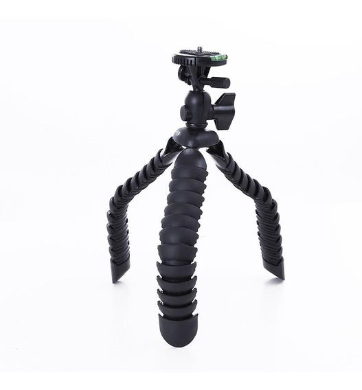 Tripé Articulado Octopus Flexível Dslr P/ Gopro Black 5 6 7