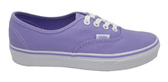 Tenis Vans Authentic Vn0a38emmmd Lavender Ttrue White Lila