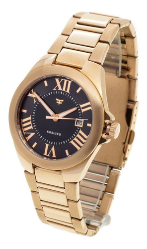Reloj Kosiuko Mujer 828b -  Acero 316 Sumergible Wr50 Fecha
