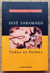 Livro Todos Os Nomes - José Saramago