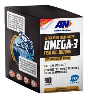 Omega 3 1000mg Importado 90 Caps Arnold Nutrition