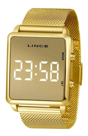 Relógio Unissex Lince Led Mdg4619l Bxkx= 35