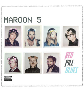 Maroon 5 Red Pill Blues Cd X 2 Nuevo