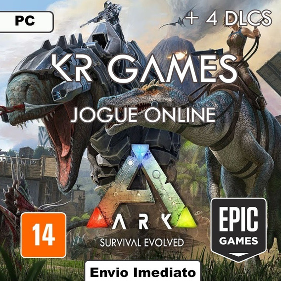 Ark Survival Evolved Original + 4 Dlcs - Mídia Digital