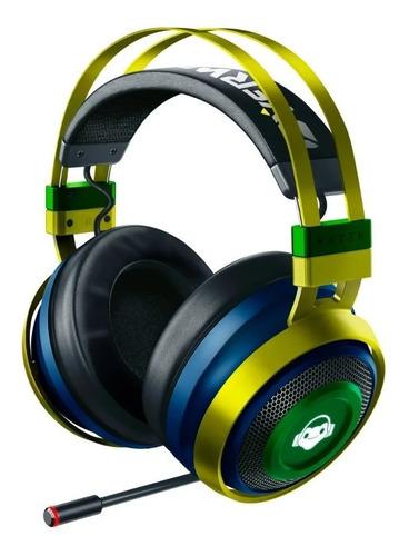 Headset Razer Wireless Nari Ultimate Overwatch Lucio Edition