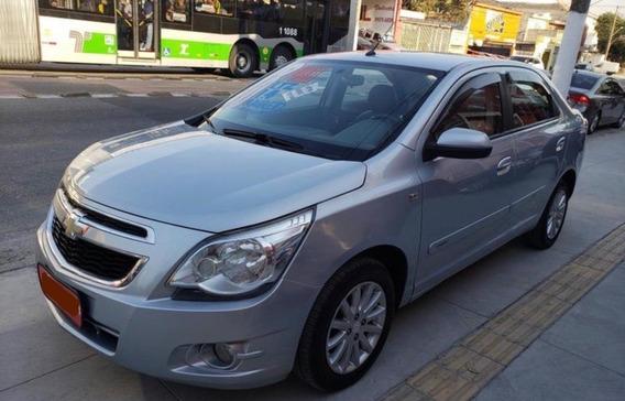 Chevrolet Cobalt 1.4 Ltz Top De Linha Bancos Couro Mecânico