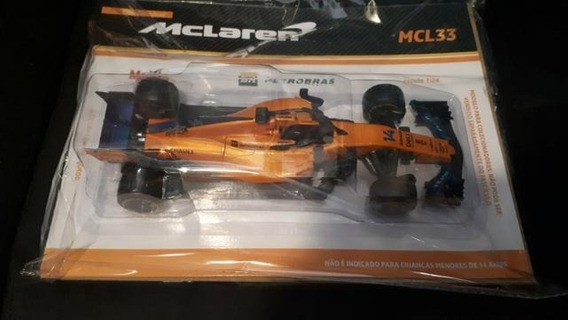 Miniatura Mc Laren F1 Alonso 1:24 Novo/lacrado !!!