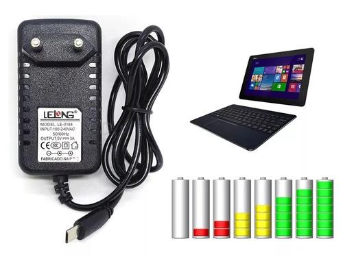 Fonte Carregador Compátivel Tablet Asus T100 (dock) - 5v 3a
