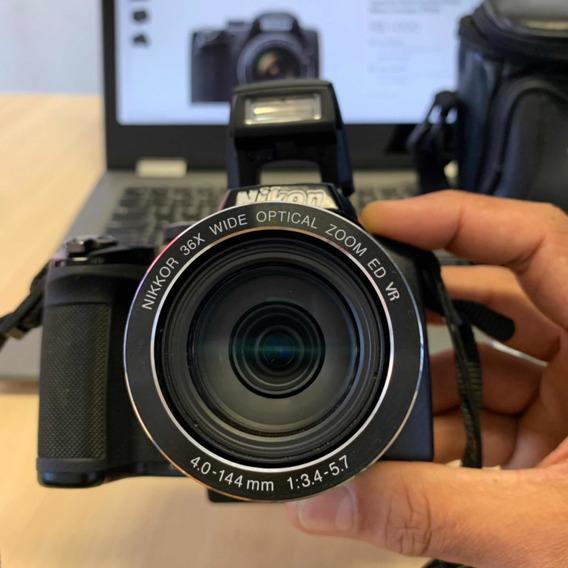 Câmera Nikon Coolpix P500! Trabalhos Profissionais.