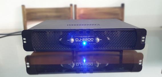 Amplificador De Potência Studio R Dj-2200 (127v - Raro!)