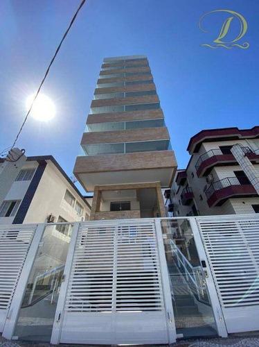 Apartamento De 1 Quarto Somente 300 Metros Da Praia Na Vila Guilhermina!!! - Ap3518