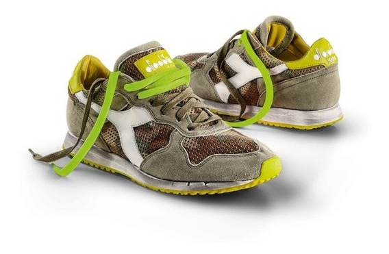 Unicas Diadora Heritage Camo T 43.5 Nuevas Made In Portugal