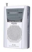 Rádio Receptor Indin Bc-r60 Am/fm Importado Baixo Consumo